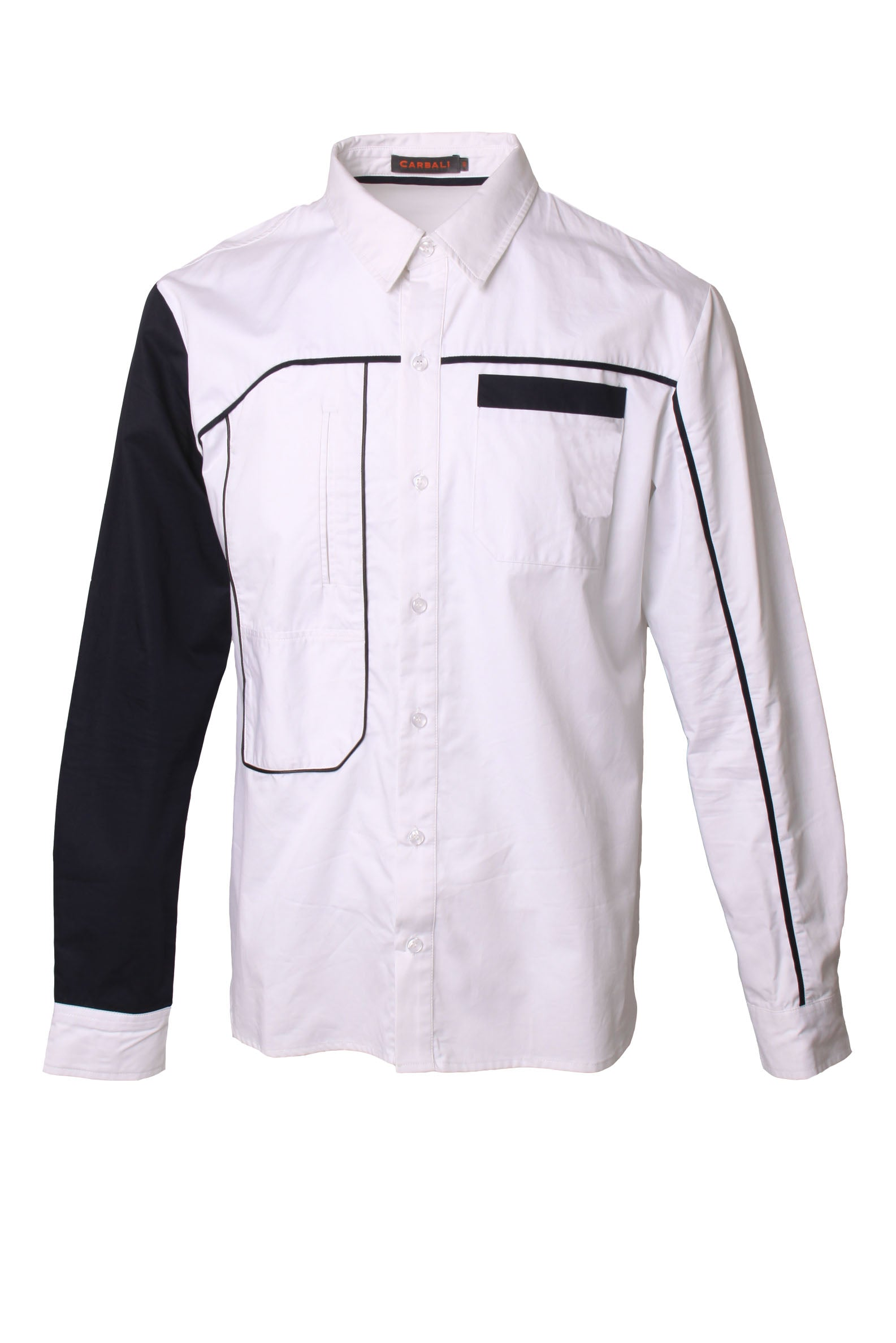 Knot embroidered logo shirt