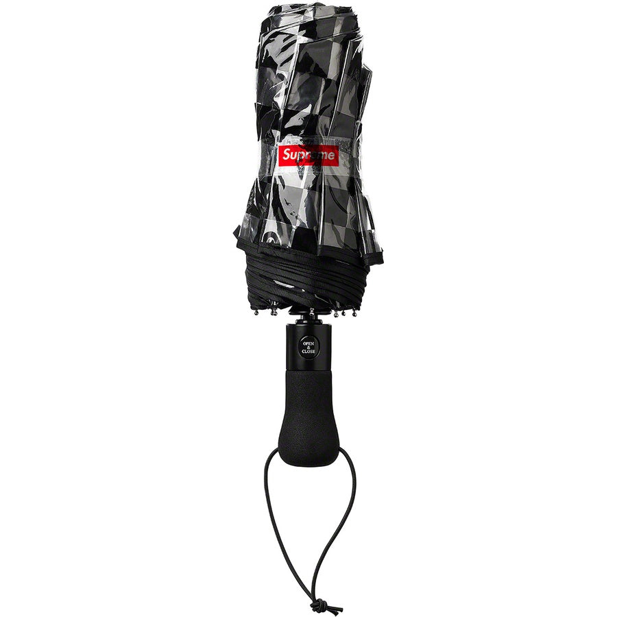 Supreme / ShedRain Transparent Checkerboard Umbrella