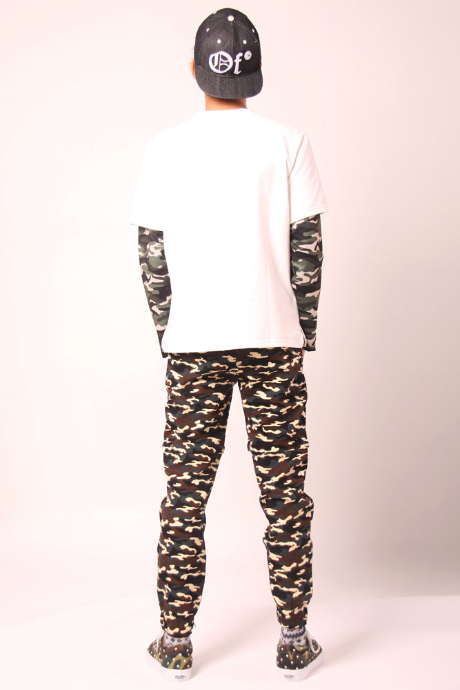 Multi-Wear Camouflage Jogger trousers