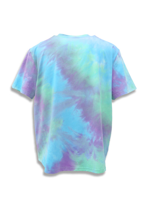 Carbali Tie-Dye T-shirt with Happy Print