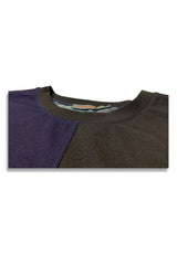 Carbali Colour Block T-Shirt in Navy