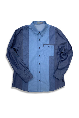 Carbali Strip Pattern Shirt
