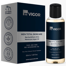 Load image into Gallery viewer, mVIGOR Men Total Skincare Face and Skin Bio Nourishing Oil 50 ml