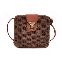LuxCrafts Handwoven Rattan Bag