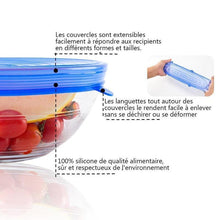Couvercles en Silicone RevoluFresh™ - RevoluFresh