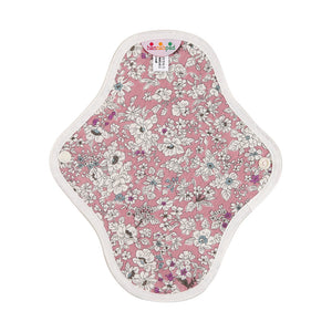 hannahpad Certified Organic Cloth Pad | Pantyliner 2pk | Antique Pink