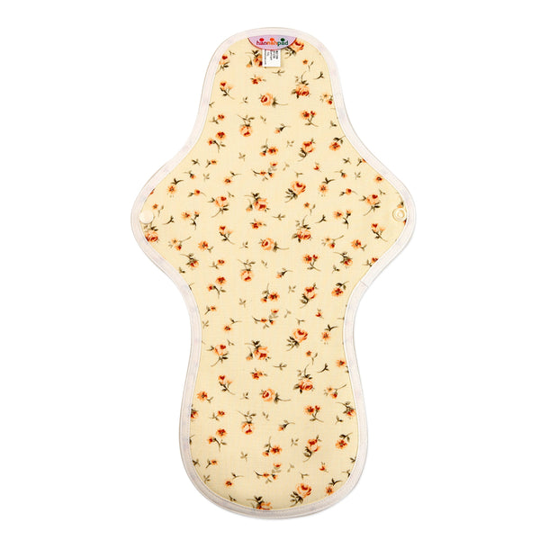 hannahpad Certified Organic Cloth Pad | Large/Overnight Single | Propose Yellow