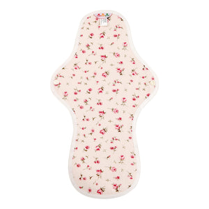 hannahpad Certified Organic Cloth Pad | Large/Overnight Single | Propose Pink
