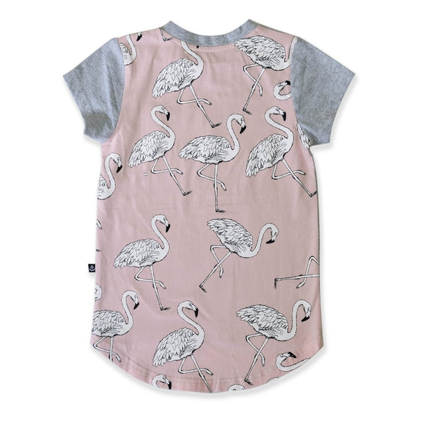 Flamingo Scoop Tee from Hello Stranger
