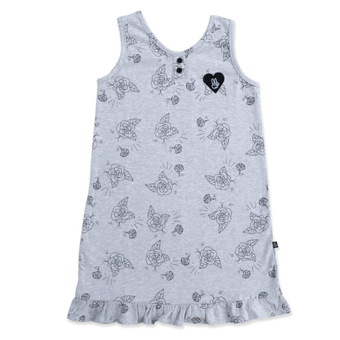 Flower Dolly Dress from hello stranger kidswear