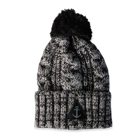 Hello Stranger Cable I Beanie Black