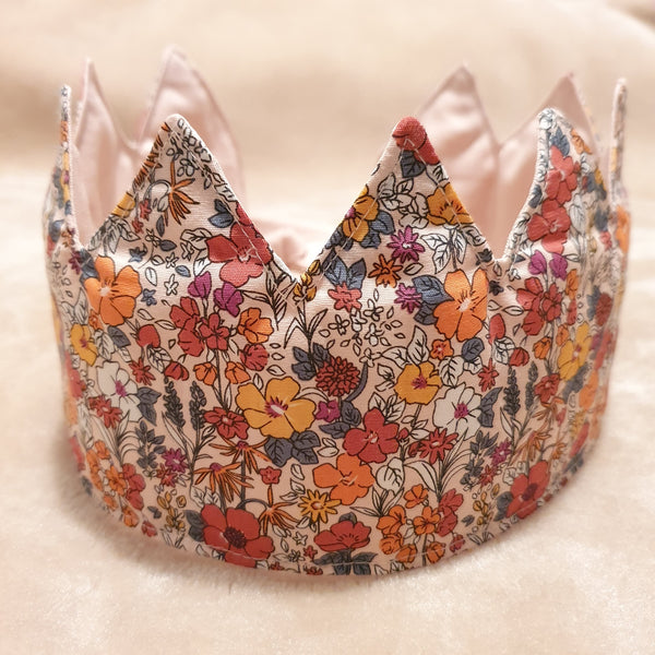 Fabric Crown Floral (front)