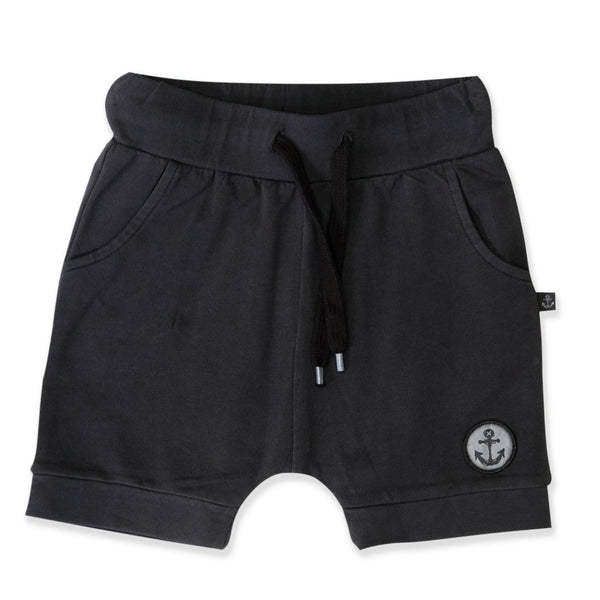 Hello Stranger Black Wash Rocky Shorts