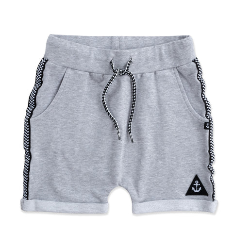 Roll With Me Short Grey Marle from hello stranger kidswear