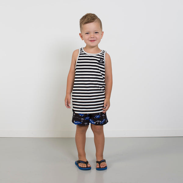 Beach Vibes Boardie from hello stranger kidswear