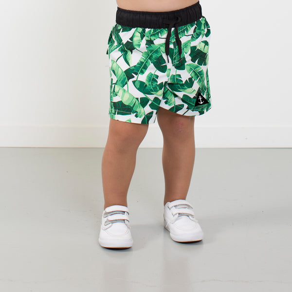 Banana Leaf Boardie from hello stranger kidswear