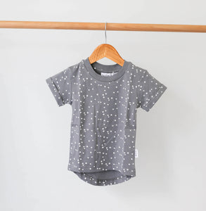 Organic Cotton Child Tee - Stars - Short Sleeve-HOKUTO