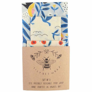 LilyBee Reusable Food Wrap King of Beasts Set of 3