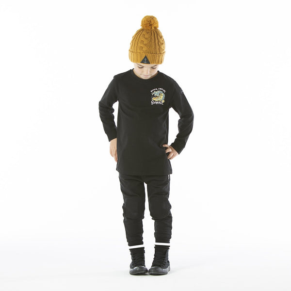 Hello Stranger Black Staple Trackie