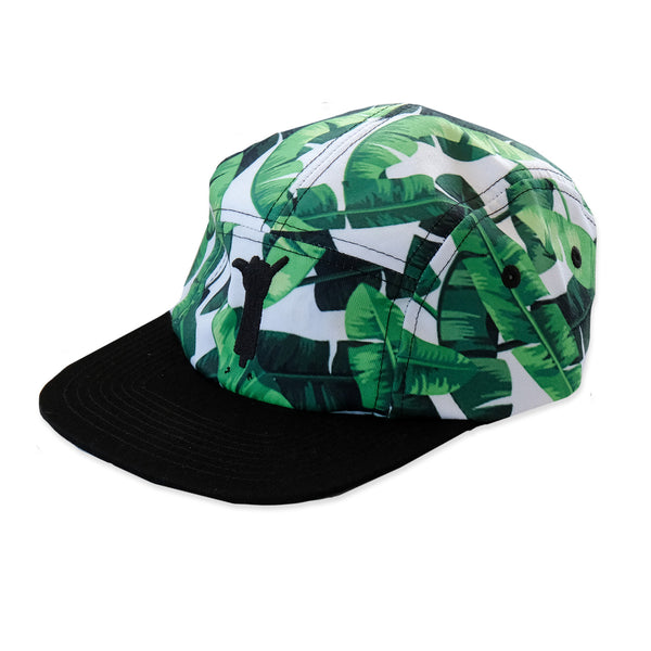 Banana Leaf 5 Panel Cap from hello stranger kidswear