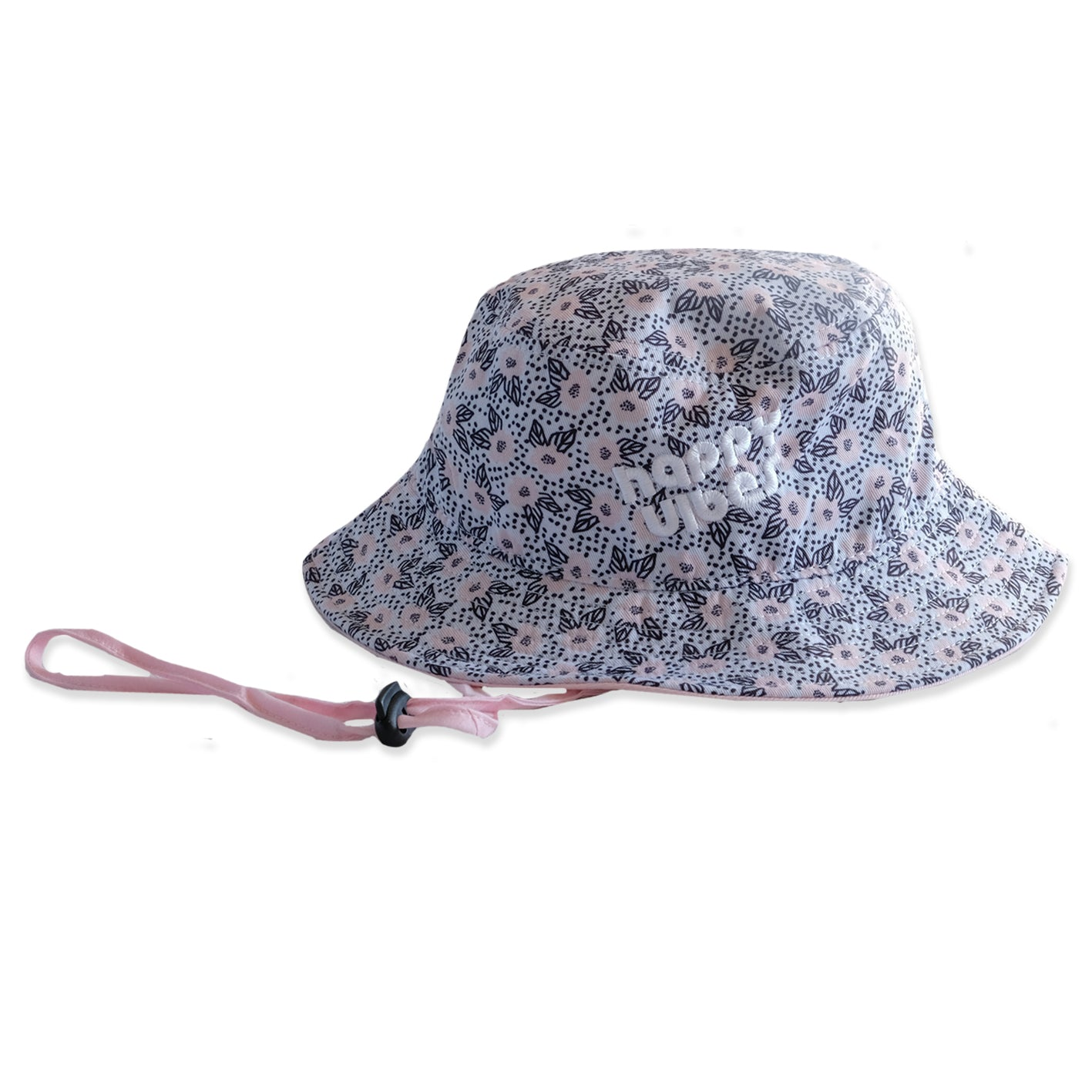 Happy Vibes Bucket Hat Floral from hello stranger kidswear