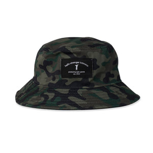 Bucket Hat Camo from hello stranger kidswear