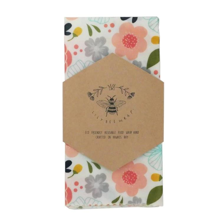 Beeswax Wrap Single XL - In Bloom