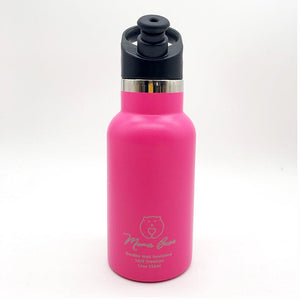 Mama Bear Stainless Steel Double Wall Insulated Bottle 12oz/355ml Bubble Gum Pink