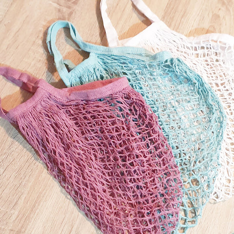 Reusable Mesh Grocery Bags