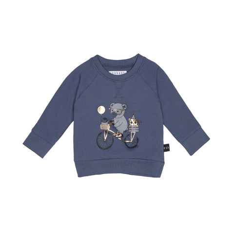 Huxbaby Organic Cotton Bike Sweatshirt
