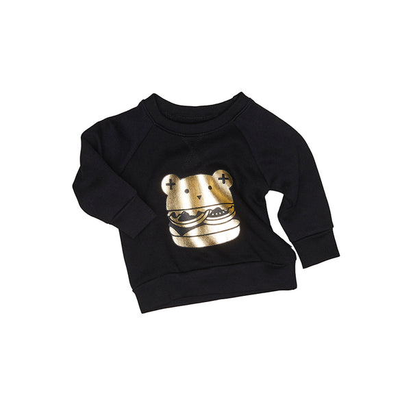Huxbaby Organic Cotton Huxburger Sweatshirt