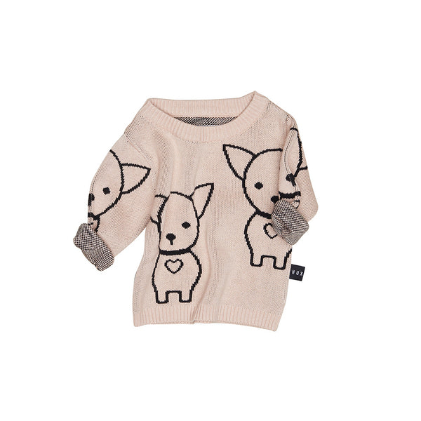 Huxbaby Organic Cotton Chihuahua Knit Jumper