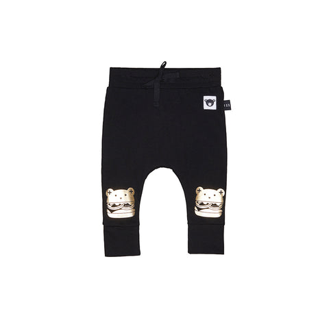 Huxbaby Organic Cotton Huxburger Drop Crotch Pant