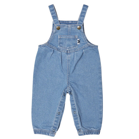Denim Overalls from Huxbaby.