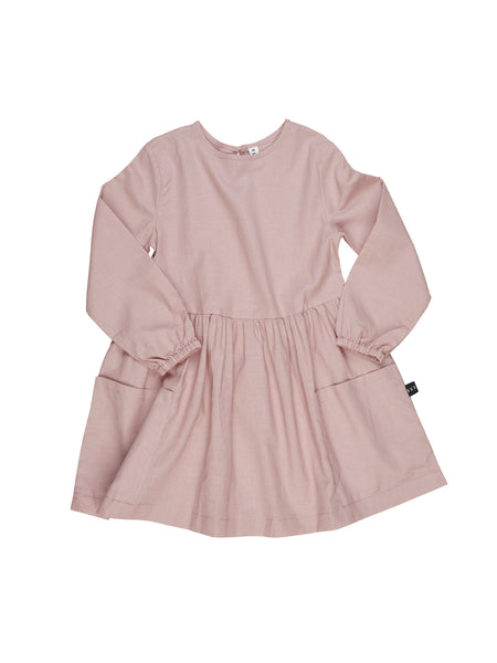 Huxbaby Berry Linen Dress