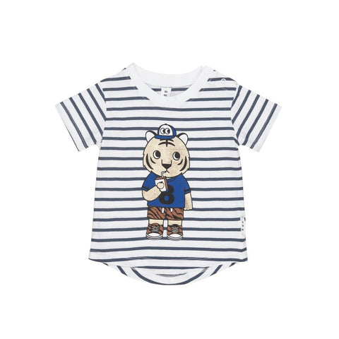 Huxbaby Organic Cotton Tiger Stripe T-shirt