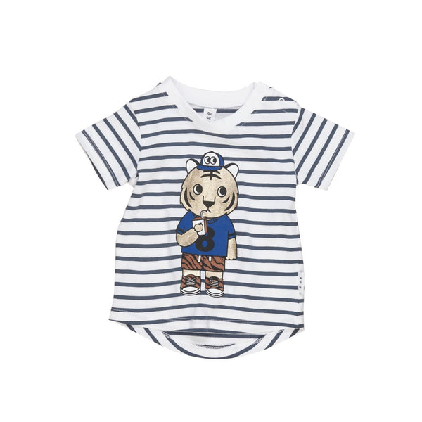 Organic Cotton Tiger Stripe T-shirt