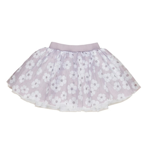 Huxbaby Floral Tulle Skirt - Flat