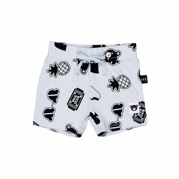 Huxbaby Organic Cotton Patches Sporty Shorts