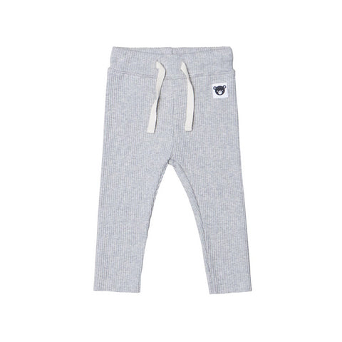 Huxbaby Grey Rib Legging