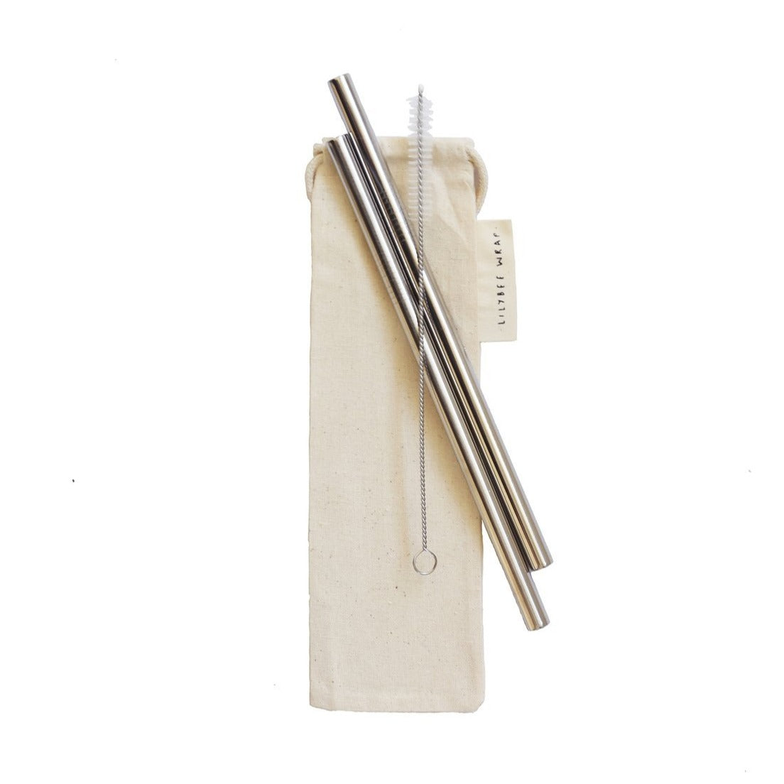 Smoothie Straw Set of 2 with Travel Bag