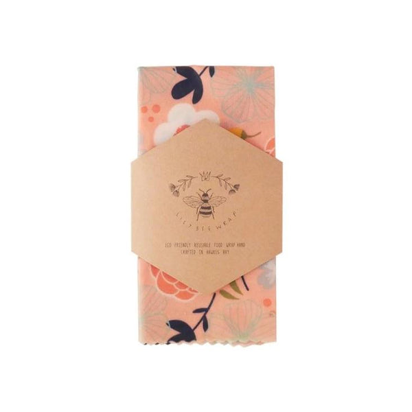 Beeswax Wrap Single Large - Peachy