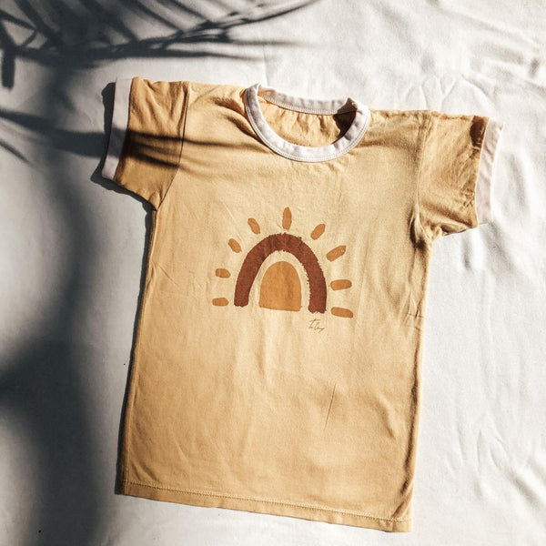 Tribal Dreaming Sunrise Rainbow Tee