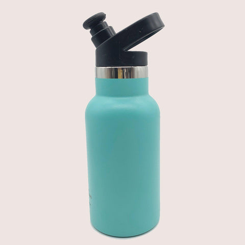 Mama Bear Stainless Steel Double Wall Insulated Bottle 12oz/355ml Sea Crest