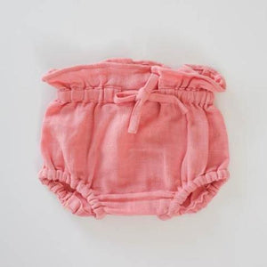 Le Edit Organic Cotton Chloe Bloomers Pink
