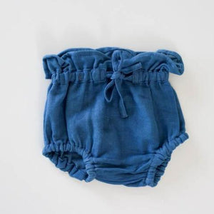 Organic Cotton Chloe Bloomers Sky - Last Sizes 0-3M & 3-6M-HOKUTO