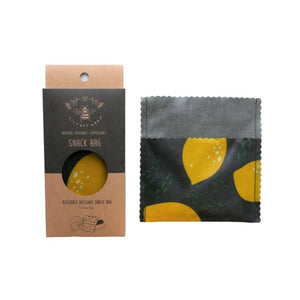 Small Snack Bag - Lemons (Organic Cotton)