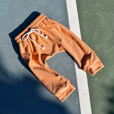 Rain Terry Track Pant - Ginger