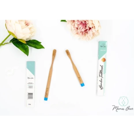 Bamboo Toothbrushes Blue