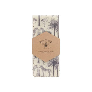 LilyBee Wrap Reusable Beeswax Wrap Single M - Safari